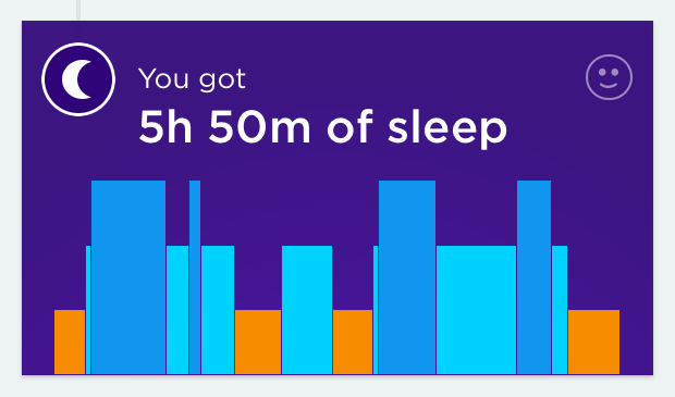 Jawbone UP tracks your sleep