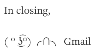 Closing line in Ted's blog post