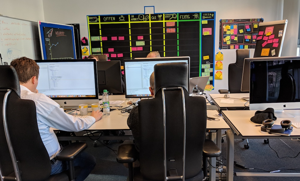 Inside the Allianz Germany Agile Training Center