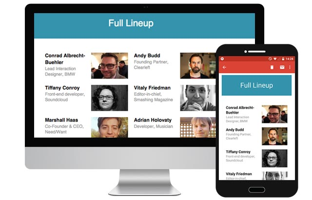 UX Munich: Responsive Email for Gmail and Android Too